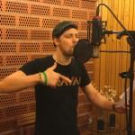 Emil in studio